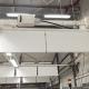 Baffel ljudabsorbenter monterade i hängslen