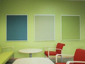 Frame ljudabsorbenter för vägg
